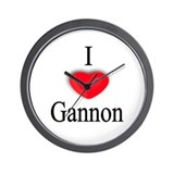 Gannon Wall Clock