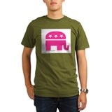 GOP Pink Elephant T-Shirt