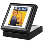 We Can Do It Poster Keepsake Box