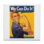 We Can Do It Poster Tile Coaster