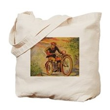 Tom Swift and his Motorcycle Tote Bag