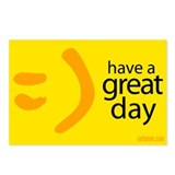 =) Have a great day postcards (8 pack)