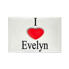 Evelyn Rectangle Magnet (100 pack)