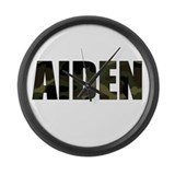 Camo Aiden Large Wall Clock