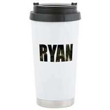 Camo Ryan Ceramic Travel Mug