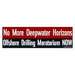 No More Deepwater Horizons bumper sticker
