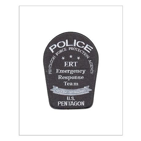 Pentagon Police ERT Small Poster