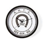 Red Oak Vigilantes Wall Clock
