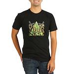 Red Oak Vigilantes Organic Toddler T-Shirt (dark)