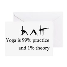Yoga Practice Greeting Card