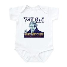 Beethoven - Van Def Infant Bodysuit