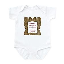 Man of One Book Infant Bodysuit