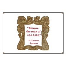 Man of One Book Banner
