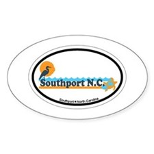 Southport NC - Beach Design Decal