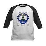 Woulfe Family Crest Kids Baseball Jersey