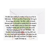 Retired Teacher Story Art Greeting Card