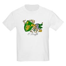 O'Keeffe Family Crest Kids T-Shirt