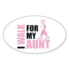 I Walk for my Aunt Decal