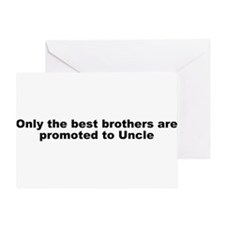 Promoted to Uncle Greeting Card