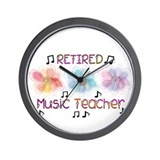 Retired Teacher II Wall Clock