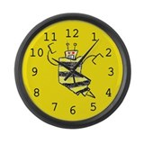 Bees Knees Large Wall Clock