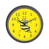 Bees Knees Wall Clock