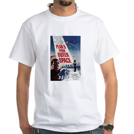 $19.99 Plan 9 from Outer Space White T