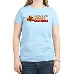 Little Turkey in November Women's Light T-Shirt