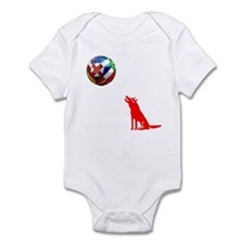 Howling At The Ball! Infant Bodysuit