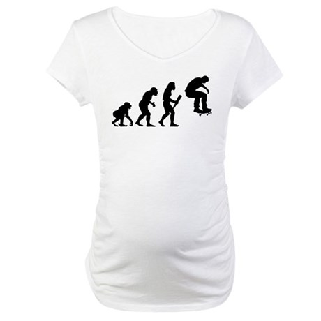 Skateboarding Maternity T-Shirt