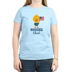 USA Soccer Chick Women's Light T-Shirt