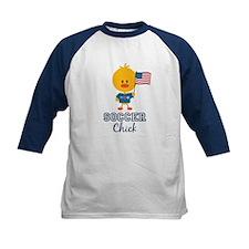 USA Soccer Chick Tee