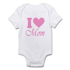 I Heart Mom: Infant Bodysuit