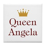 Queen Angela Tile Coaster