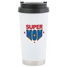 Super Mom Ceramic Travel Mug