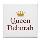 Queen Deborah Tile Coaster