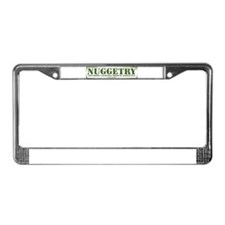 Unique Marijuana License Plate Frame