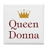 Queen Donna Tile Coaster