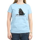 Scottish Terrier Book T-Shirt