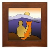 Jindo Sunrise Framed Tile
