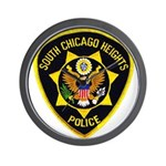 South Chicago Heights Police Wall Clock