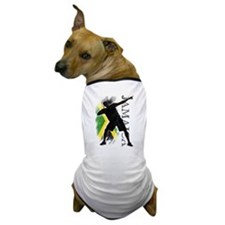 Jamaica - as fast as lightning! - Dog T-Shirt