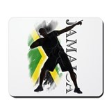 Jamaica - as fast as lightning! - Mousepad