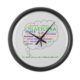 Grandma Large Wall Clock