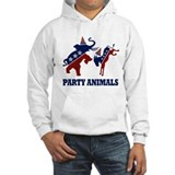 The Biggest party Animals In Hoodie Sweatshirt