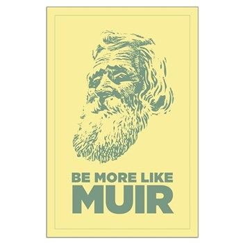 23x35 John Muir Poster