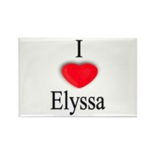 Elyssa Rectangle Magnet (10 pack)
