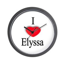 Elyssa Wall Clock