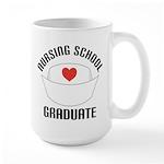 Nursing School Graduate Large Mug