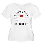 Nursing School Graduate Women's Plus Size Scoop Ne